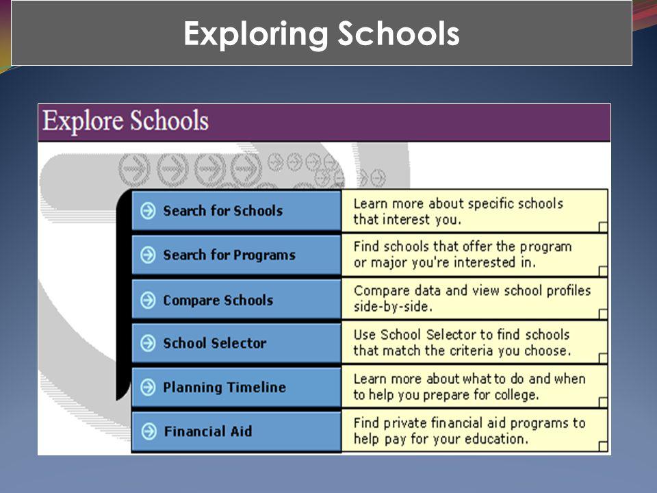 Exploring Schools