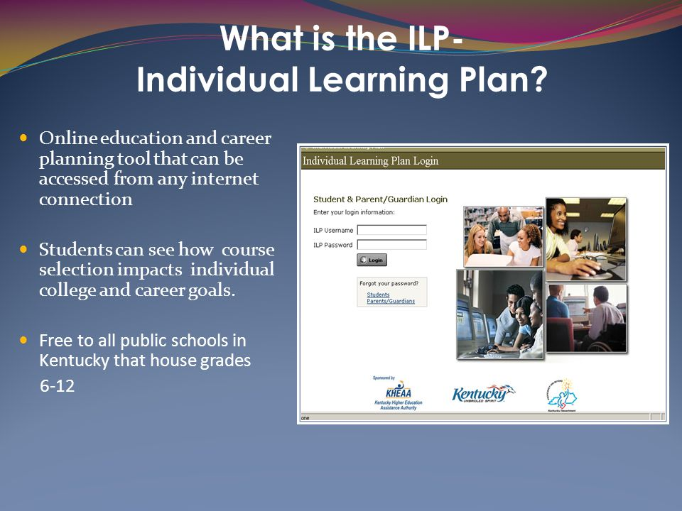 What is the ILP- Individual Learning Plan