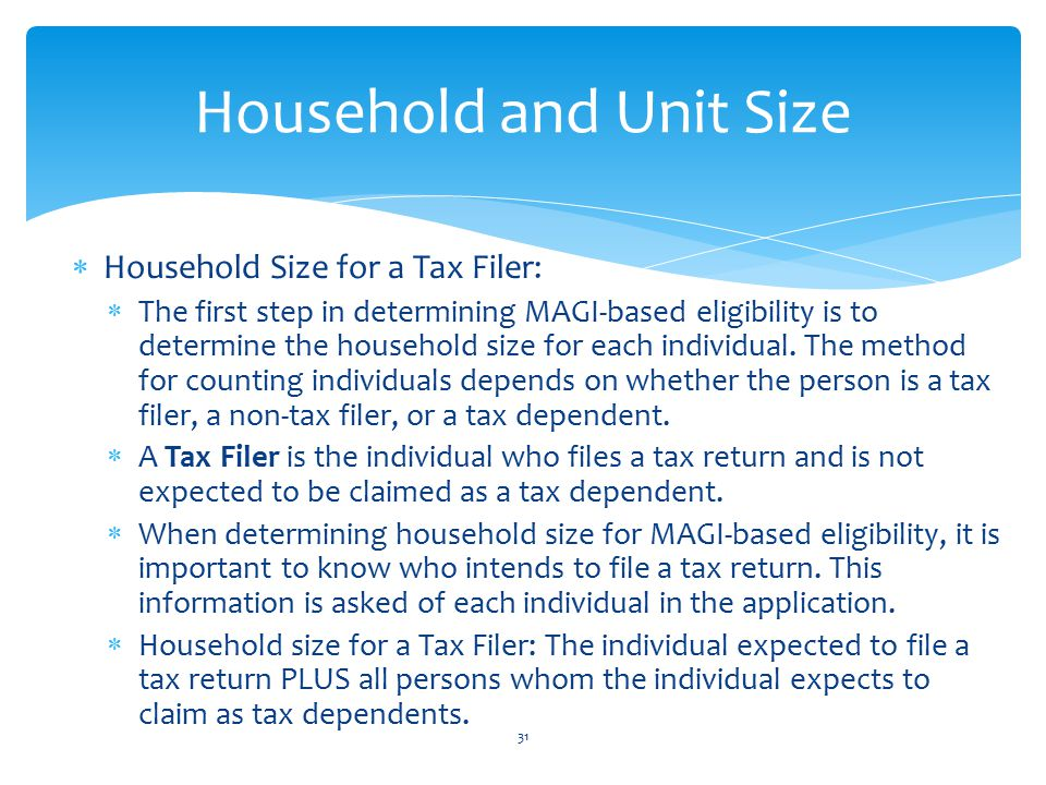 Household and Unit Size