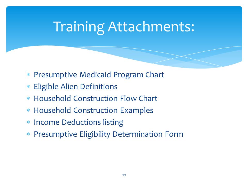 Training Attachments: