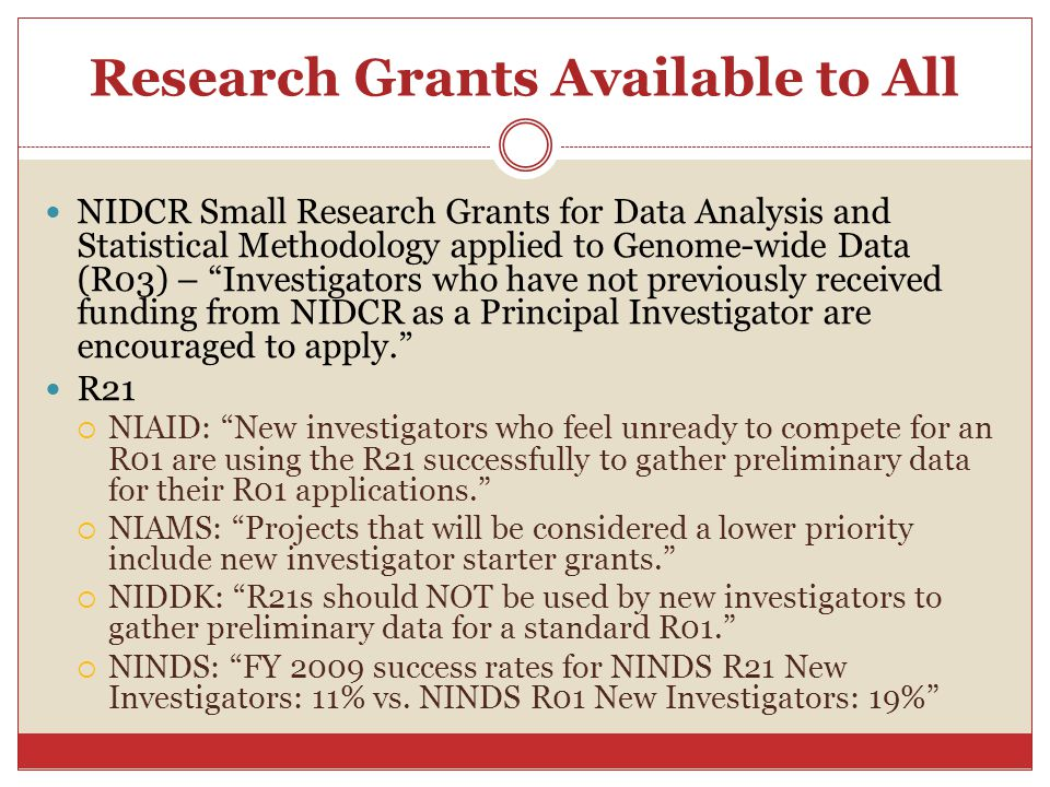 Research Grants Available to All