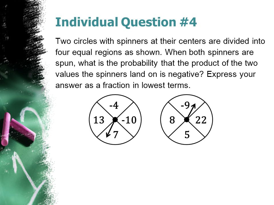 Individual Question #4
