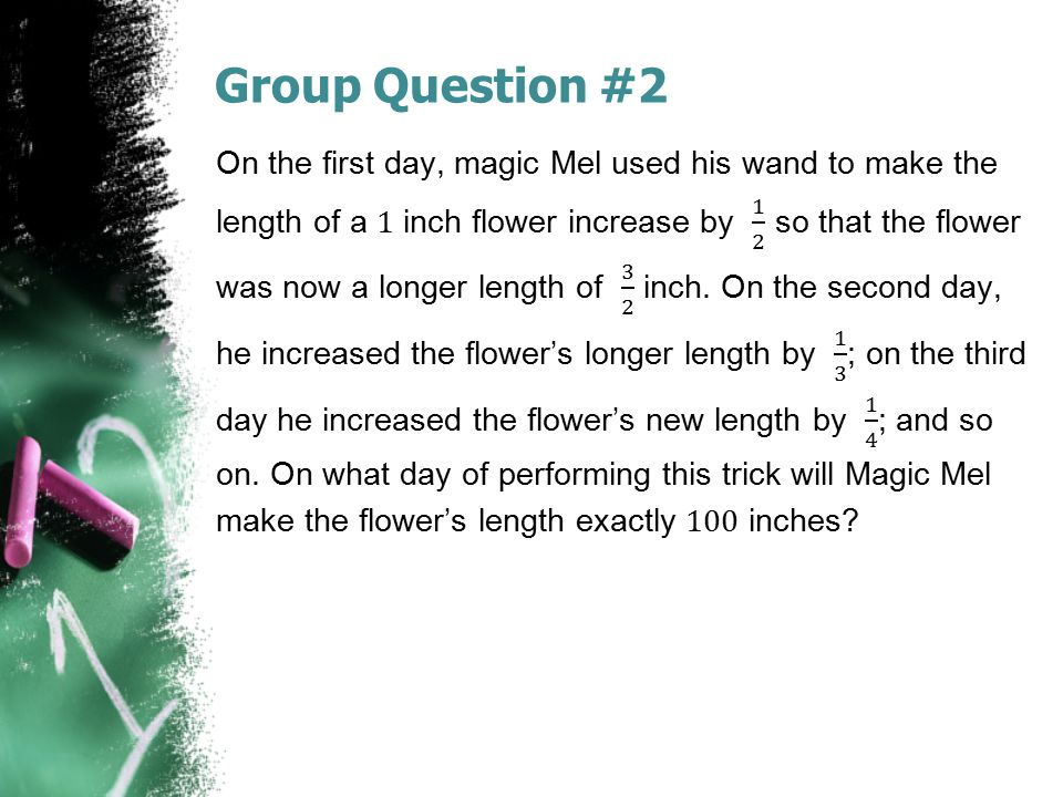 Group Question #2