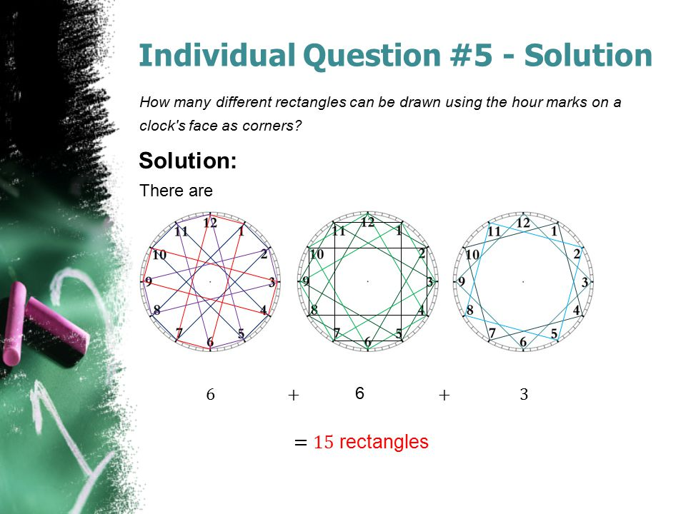 Individual Question #5 - Solution