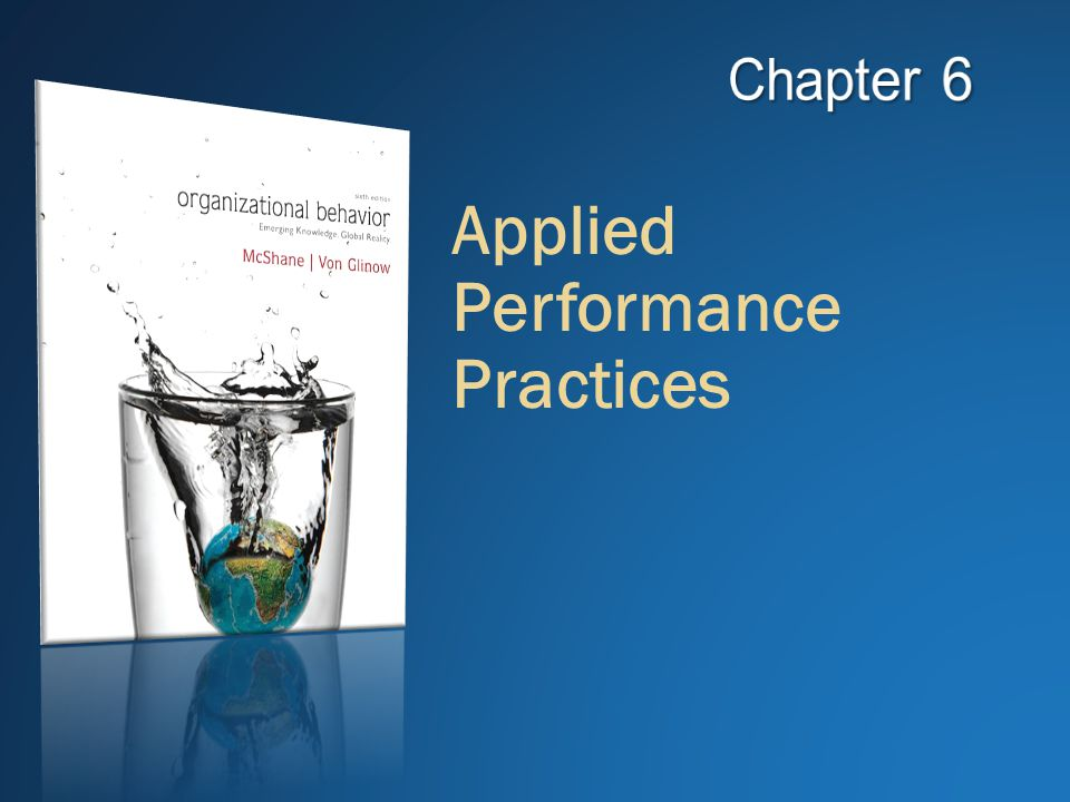 Applied Performance Practices