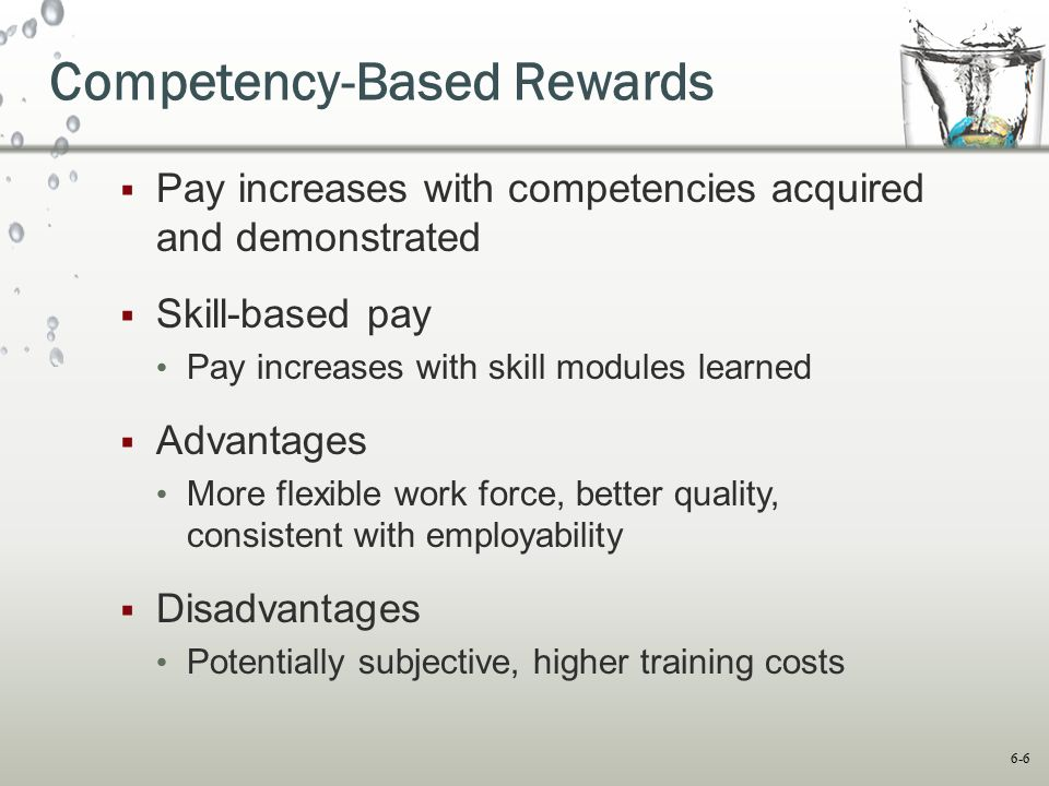 Competency-Based Rewards
