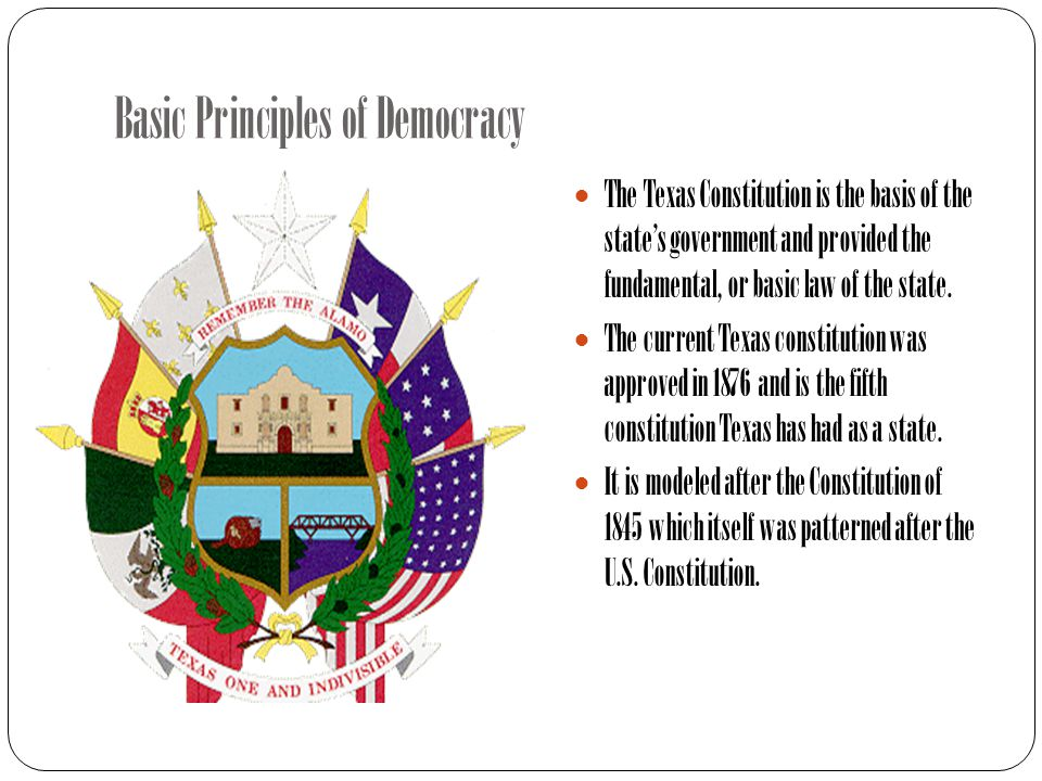Basic Principles of Democracy