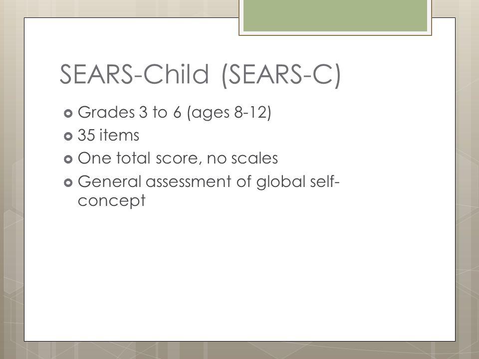 SEARS-Child (SEARS-C)
