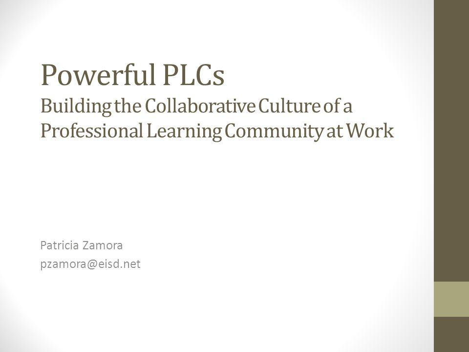 Patricia Zamora pzamora@eisd.net