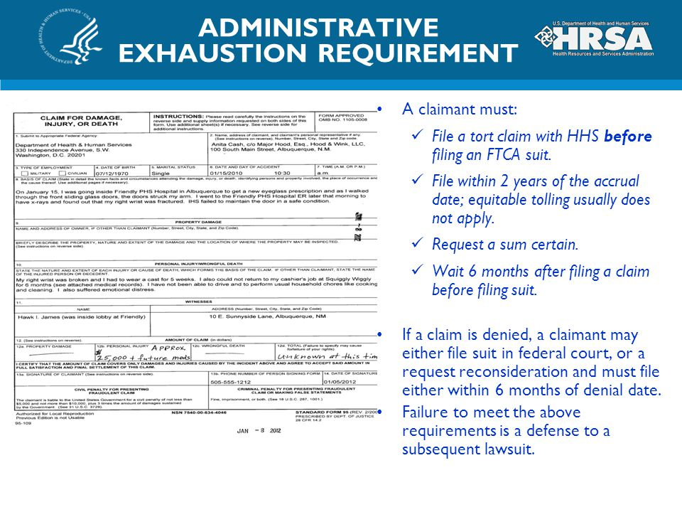 ADMINISTRATIVE EXHAUSTION REQUIREMENT