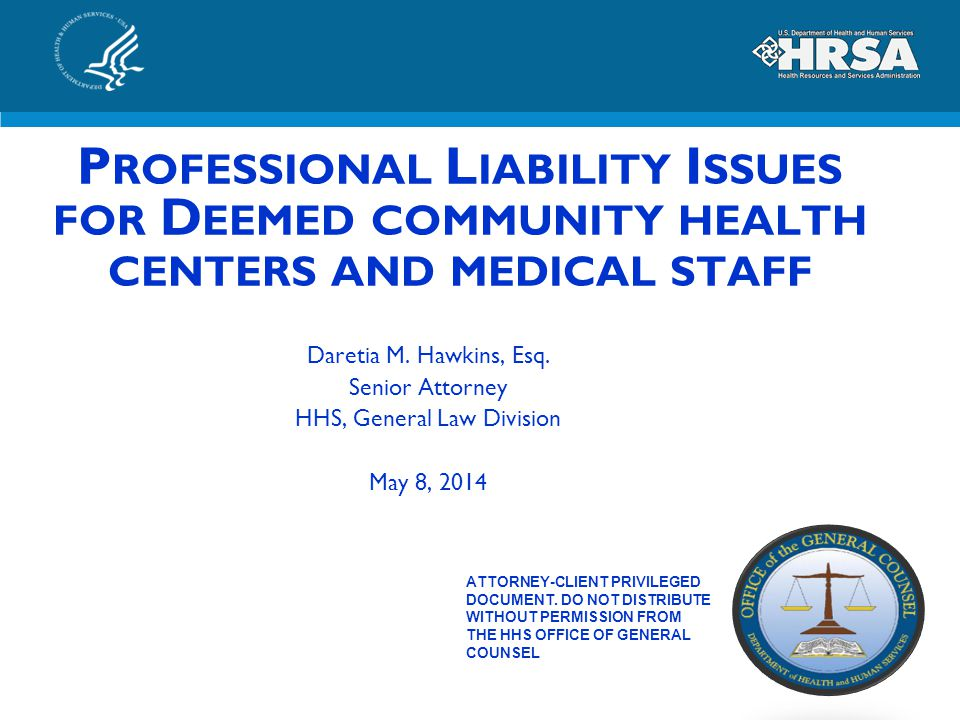 HHS, General Law Division