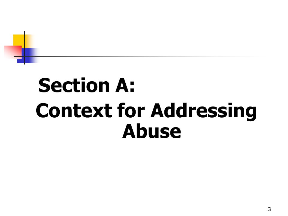 Context for Addressing Abuse