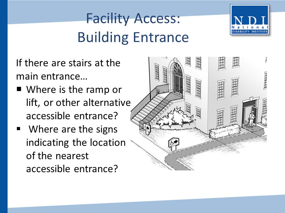 Facility Access: Building Entrance