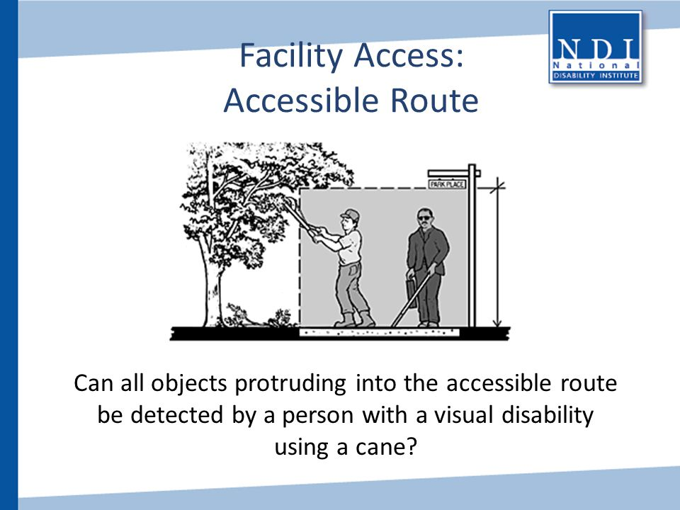 Facility Access: Accessible Route