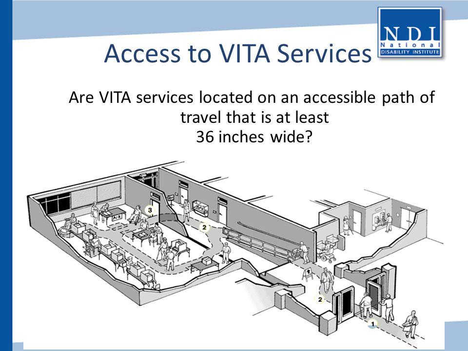 Access to VITA Services