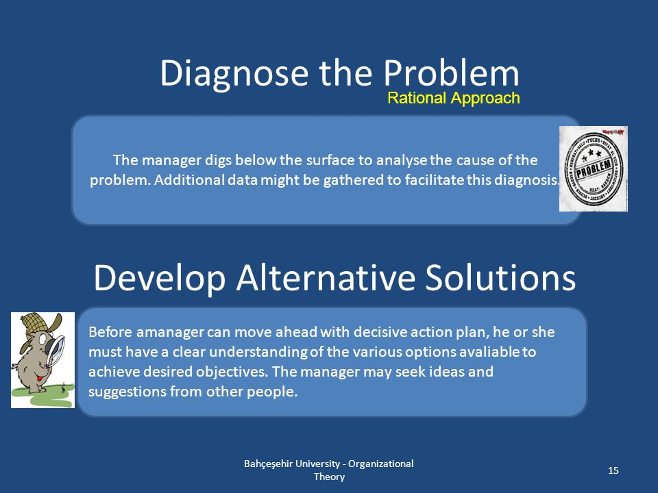 Develop Alternative Solutions