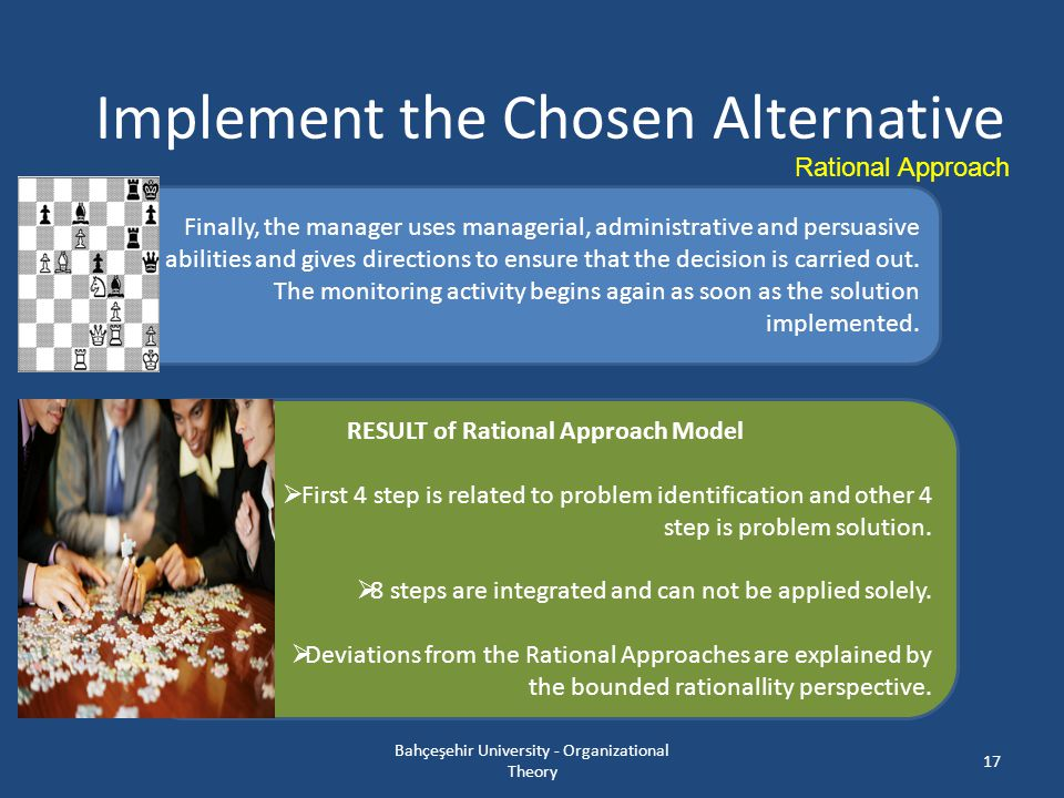RESULT of Rational Approach Model