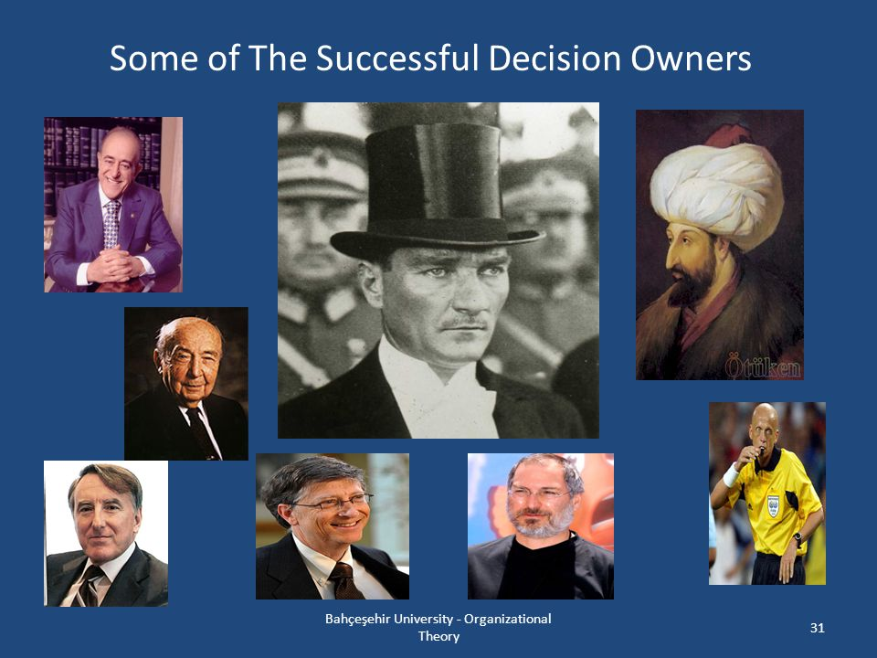 Some of The Successful Decision Owners