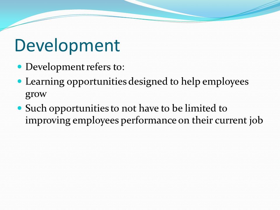 Development Development refers to: