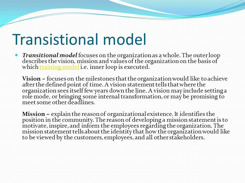 Transistional model