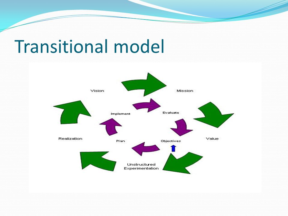Transitional model