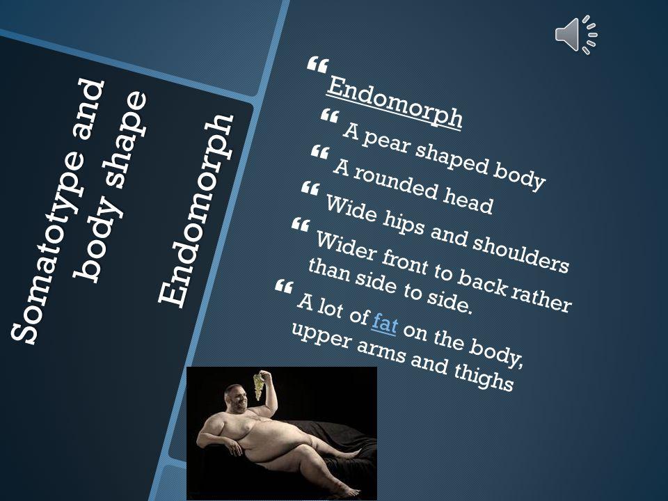 Somatotype and body shape Endomorph