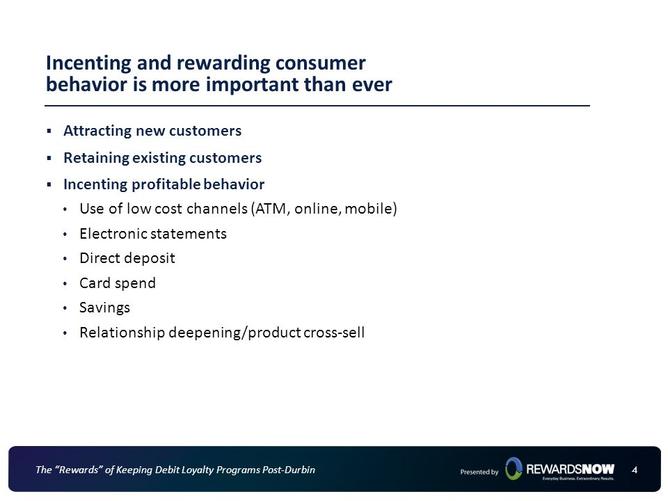Incenting and rewarding consumer behavior is more important than ever