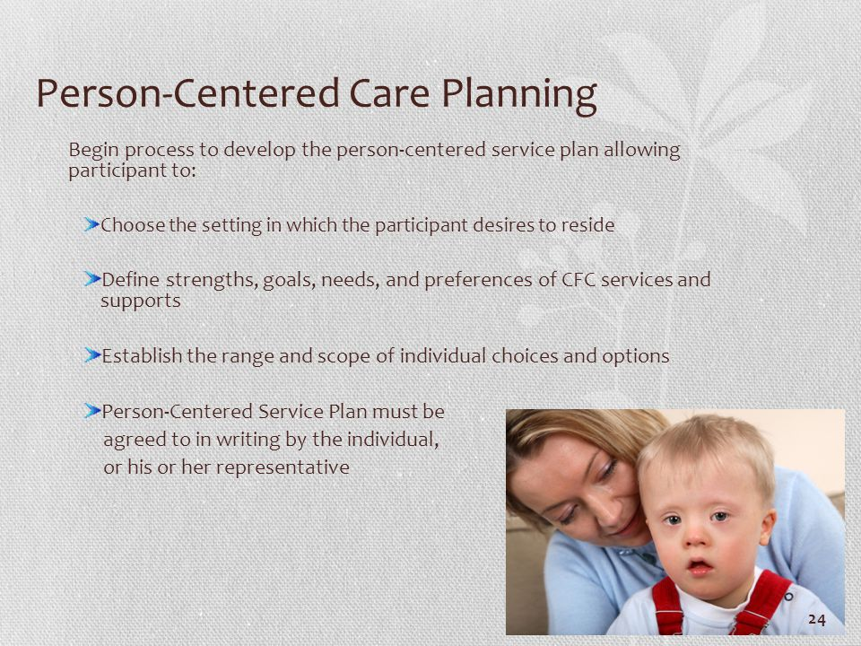 Person-Centered Care Planning