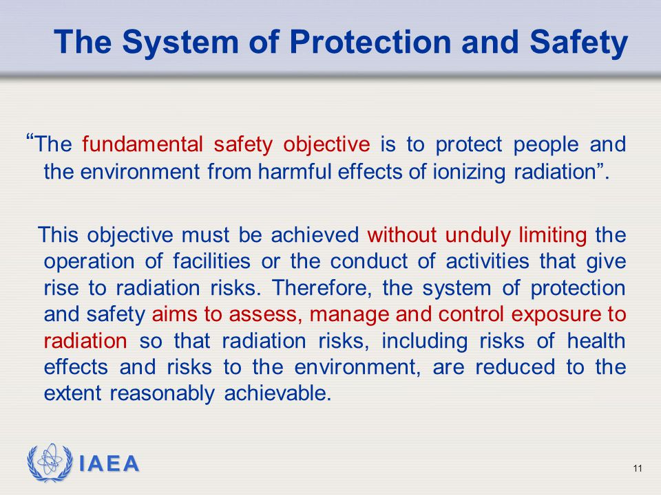 The System of Protection and Safety
