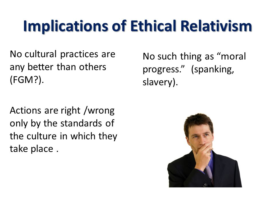 Implications of Ethical Relativism