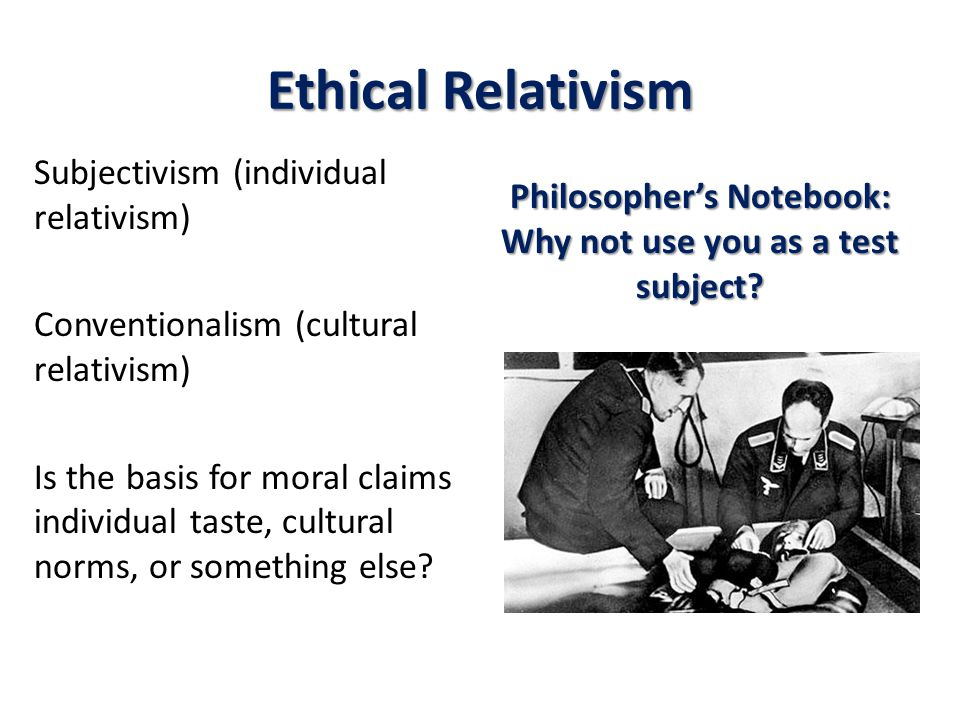 What Is Ethical Absolutism?