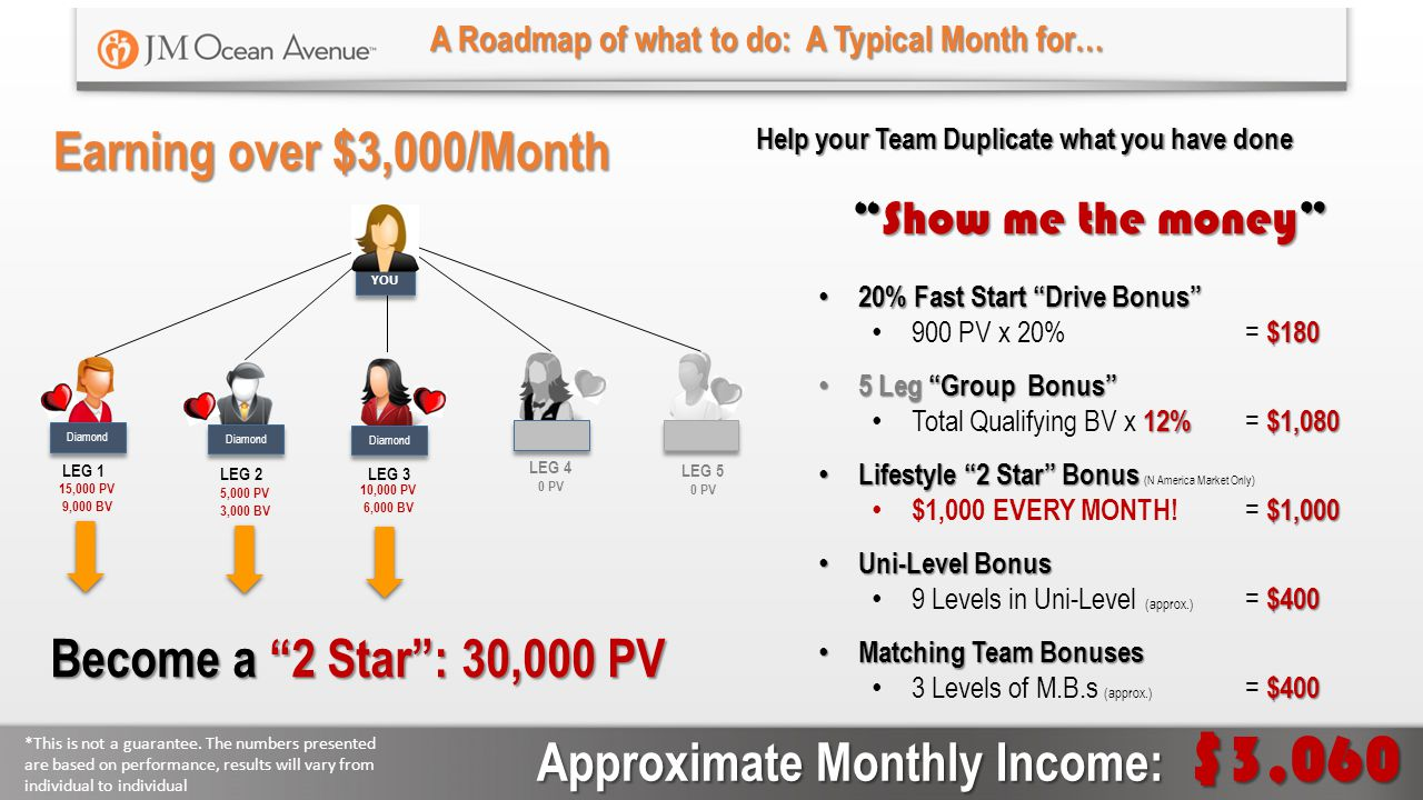 Approximate Monthly Income: $3,060