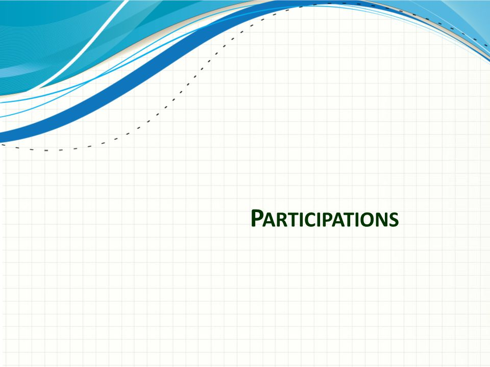Participations – overview