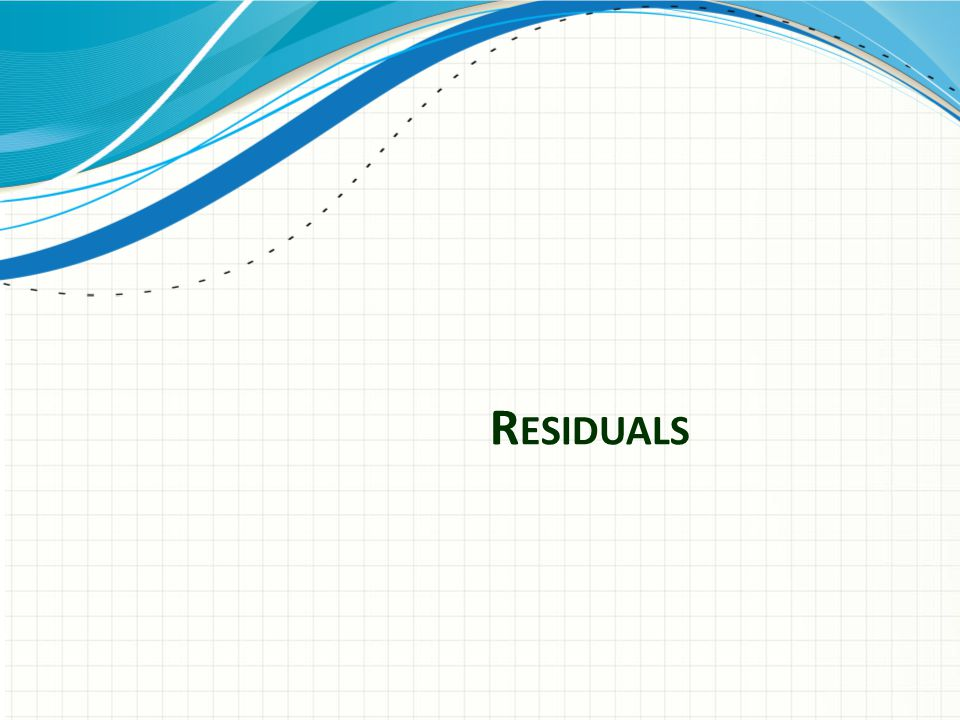 Residuals – Overview Additional compensation for ancillary markets (DVD, pay TV, cable, network TV, etc)