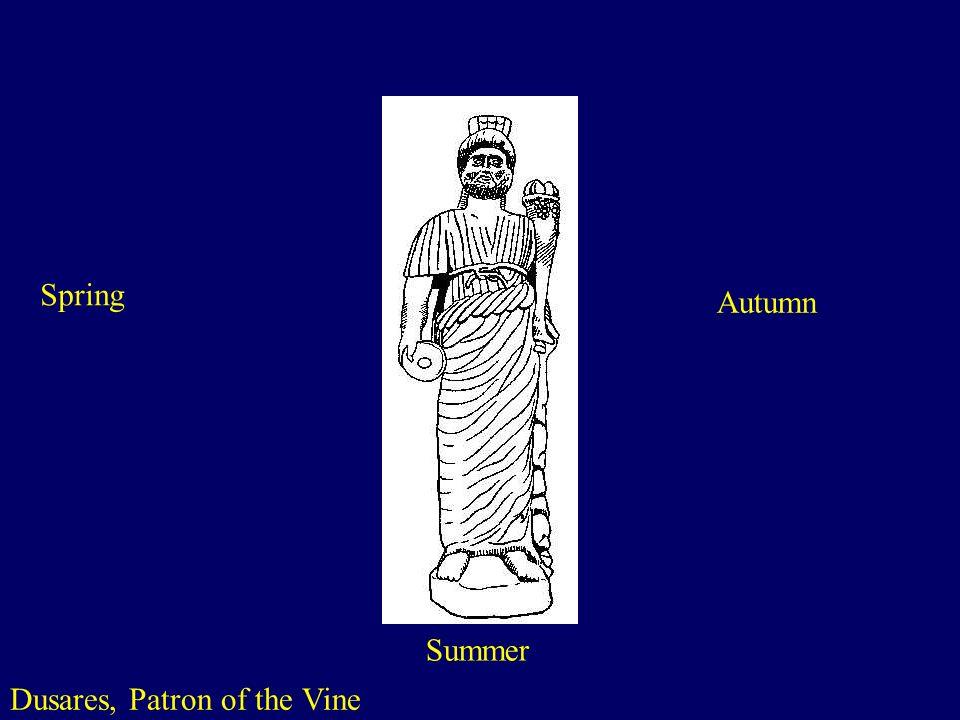Dusares, Patron of the Vine
