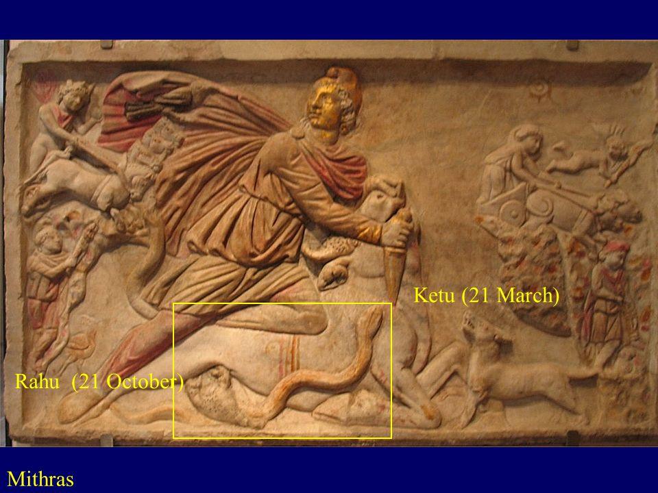 Ketu (21 March) Rahu (21 October) Mithras