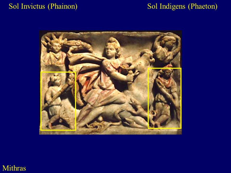 Sol Invictus (Phainon) Sol Indigens (Phaeton)