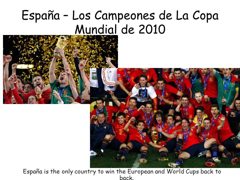 España – Los Campeones de La Copa Mundial de 2010