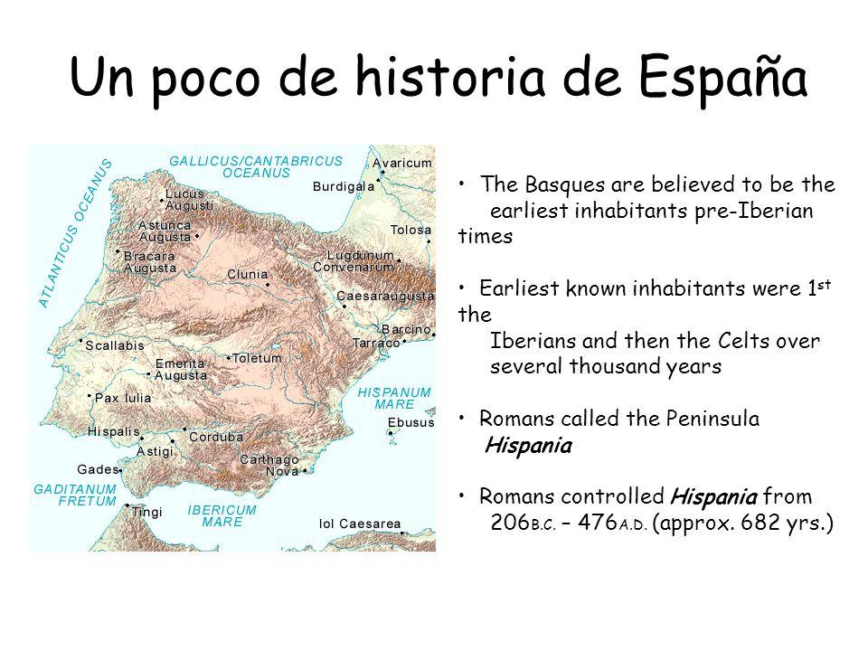Un poco de historia de España