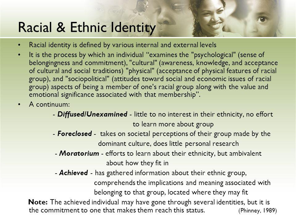 Racial & Ethnic Identity