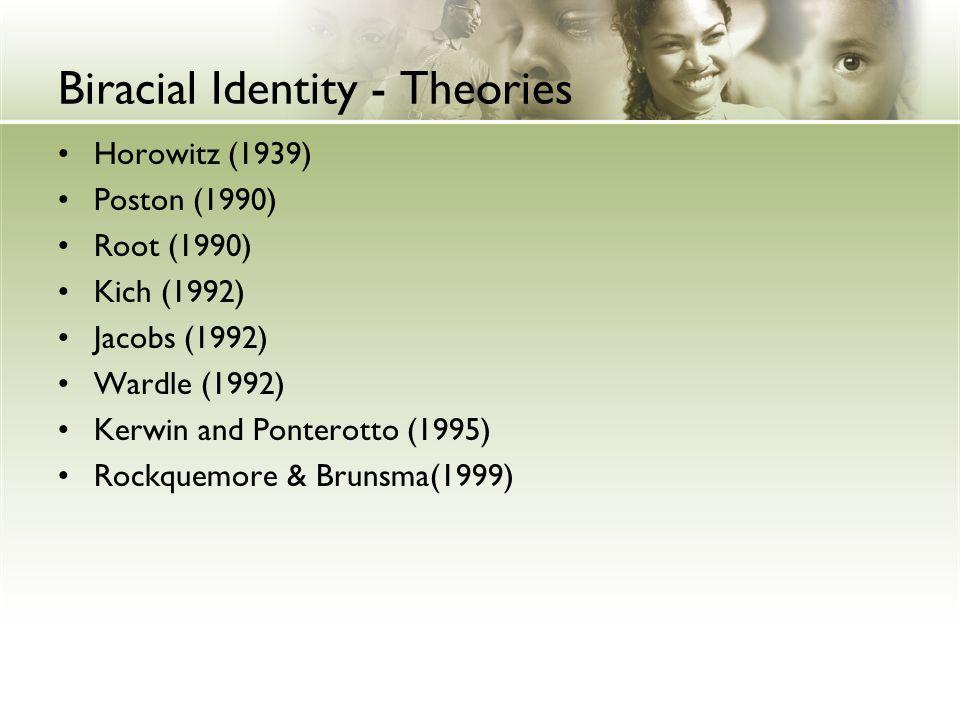 Biracial Identity - Theories