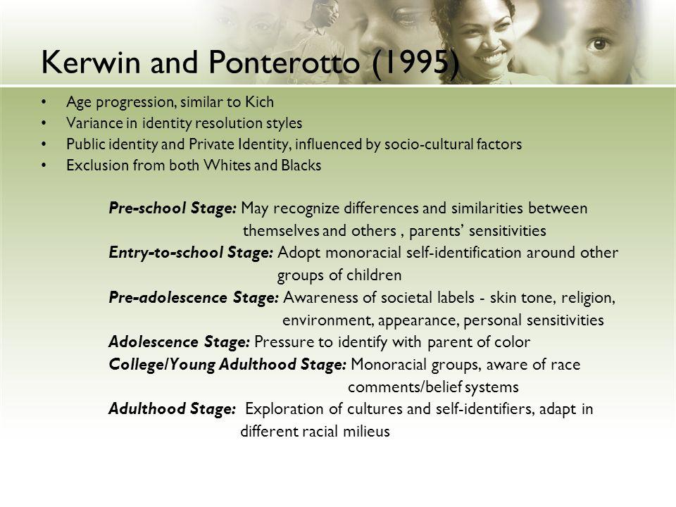 Kerwin and Ponterotto (1995)