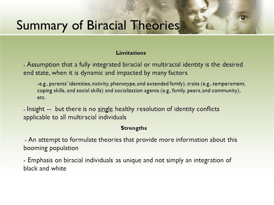 Summary of Biracial Theories