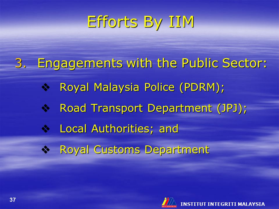 Efforts By IIM Engagements with the Public Sector: