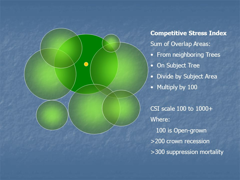 Competitive Stress Index