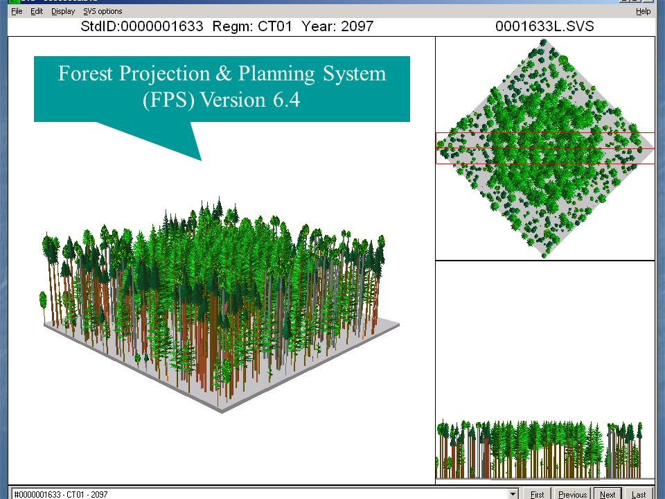 Forest Projection & Planning System (FPS) Version 6.4