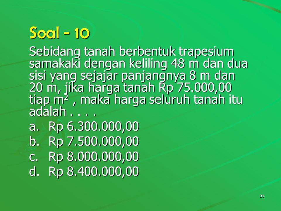 Soal - 10