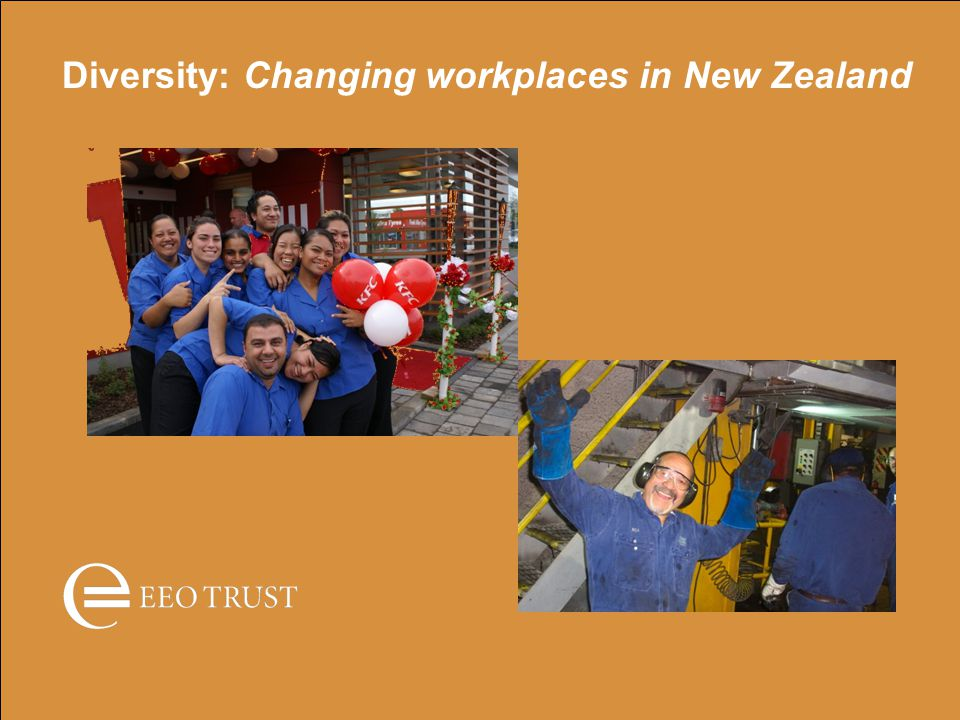 Diversity: Changing workplaces in New Zealand