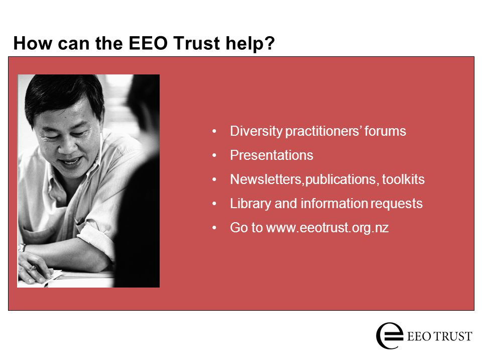 How can the EEO Trust help