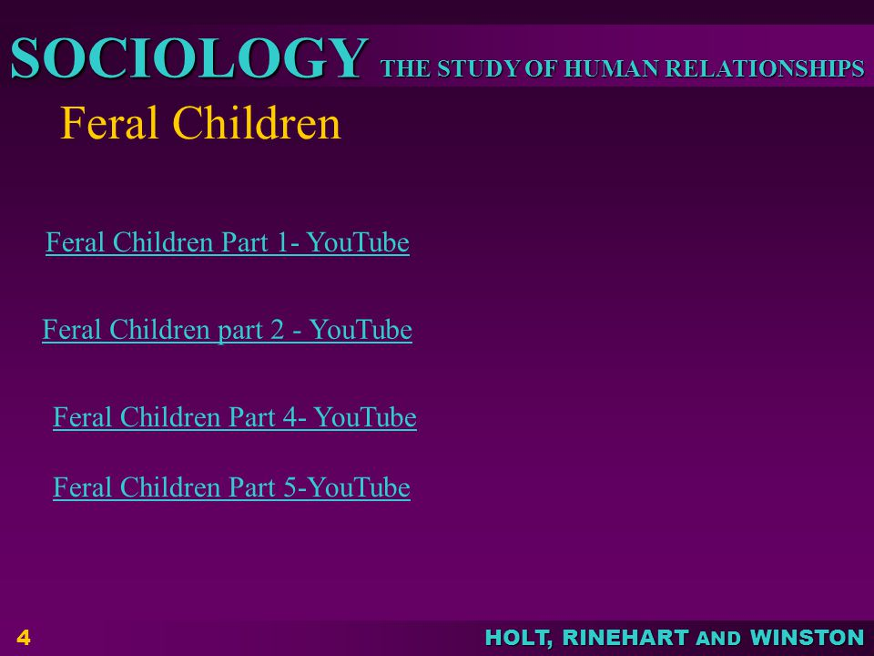 Feral Children Feral Children Part 1- YouTube